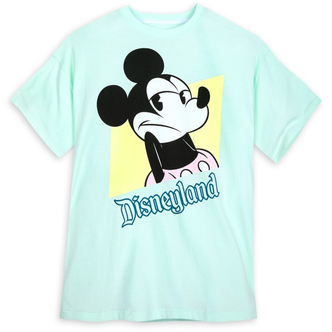 Mickey Mouse Shrugging Pastel T-Shirt for Adults – Disneyland