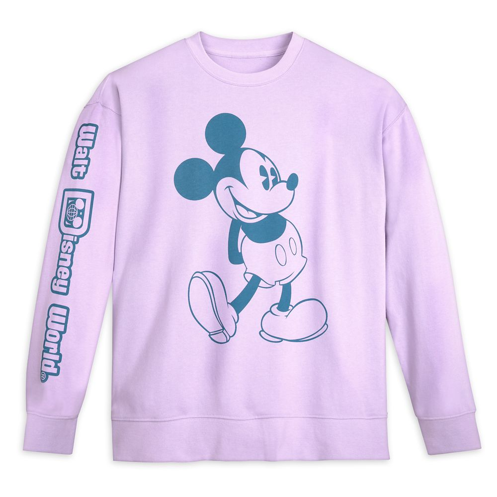 Mickey and Minnie Mouse Pastel Pullover Sweatshirt for Men – Walt Disney World
