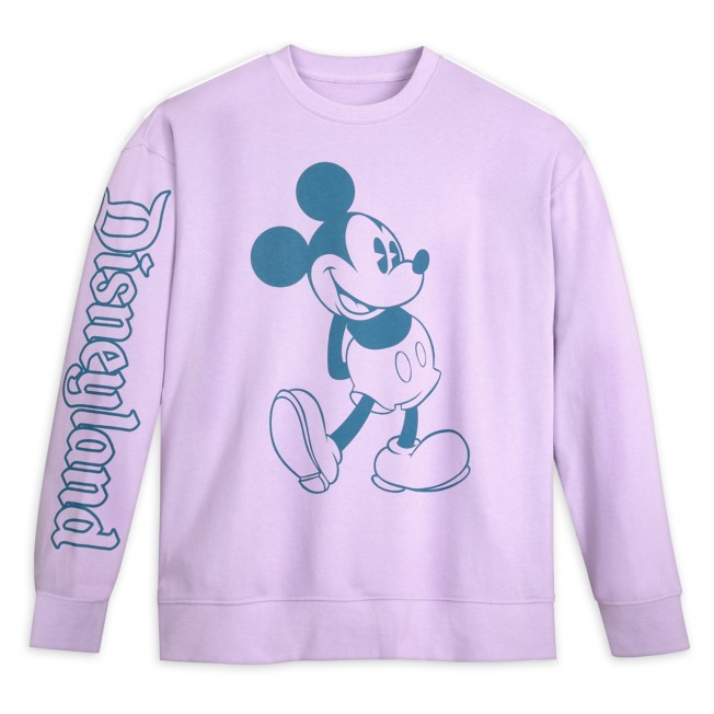 Mickey and Minnie Mouse Pastel Pullover Sweatshirt for Men – Disneyland