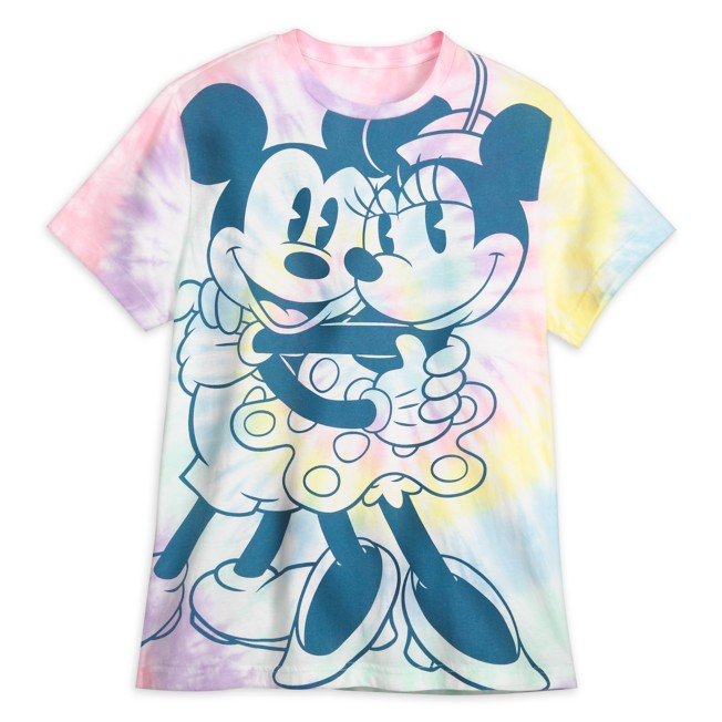 Mickey and Minnie Mouse Pastel T-Shirt for Men – Walt Disney World