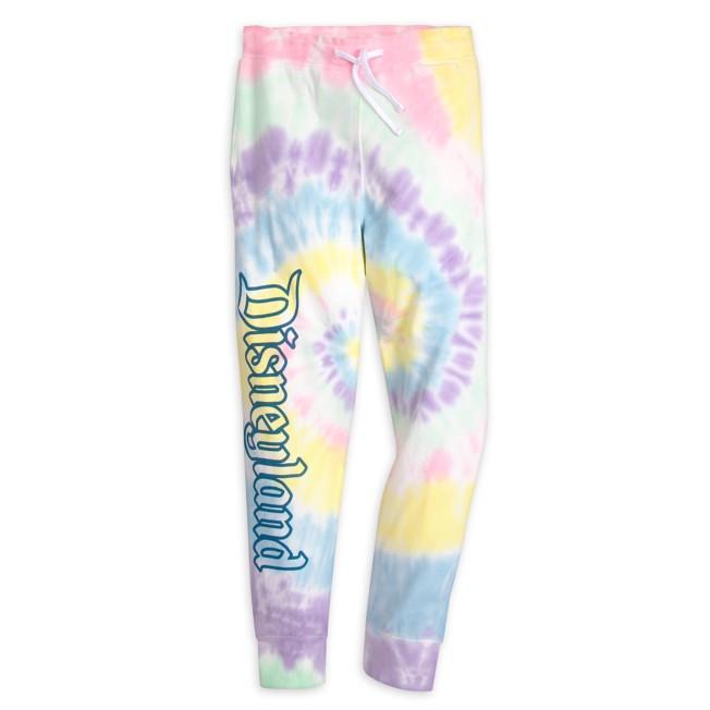 Disneyland Pastel Tie-Dye Sweatpants for Men
