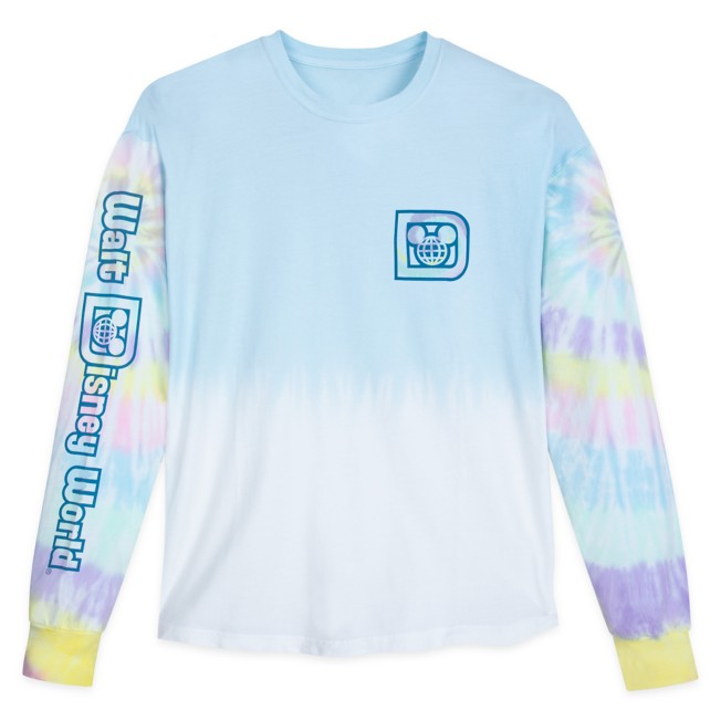 Walt Disney World Tie-Dye Pastel Pullover Top for Adults