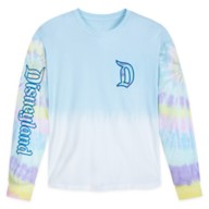 Disneyland Tie-Dye Pastel Pullover Top for Adults