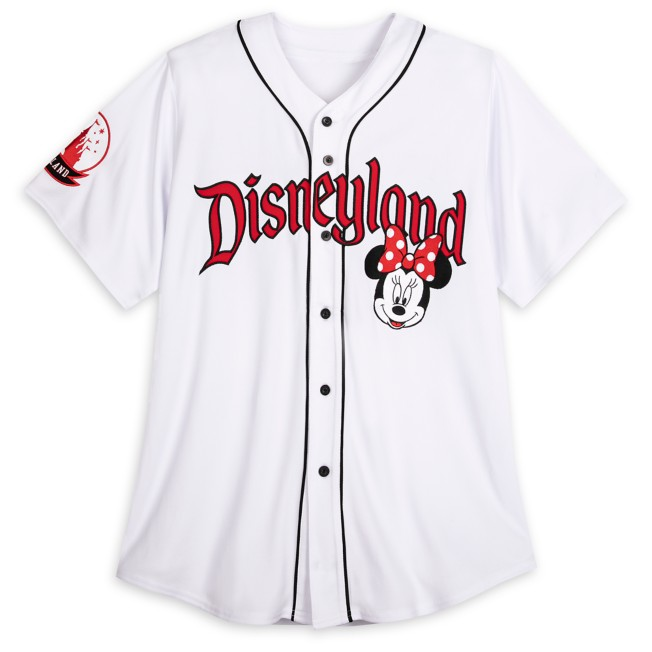 Minnie Mouse Baseball Jersey for Adults – Disneyland