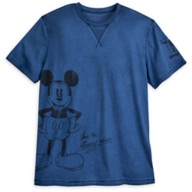 Mickey Mouse Mineral Wash T-Shirt for Adults – Disneyland