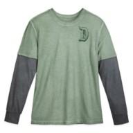 Disneyland Long Sleeve Layered T-Shirt for Adults