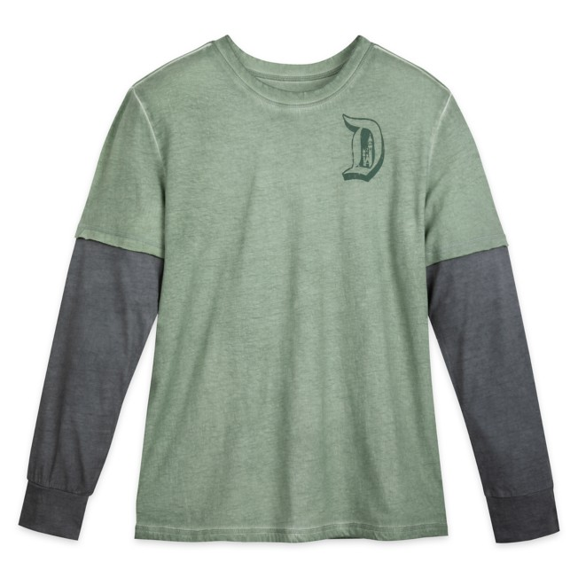Disneyland Long Sleeve Layered T-Shirt for Adults