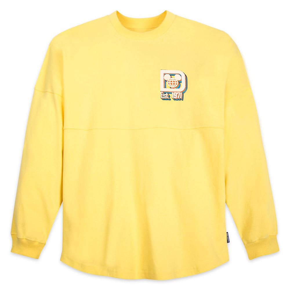 Walt Disney World Logo Spirit Jersey for Adults – Yellow