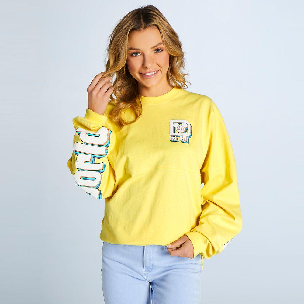 Walt Disney World Logo Spirit Jersey for Adults – Yellow