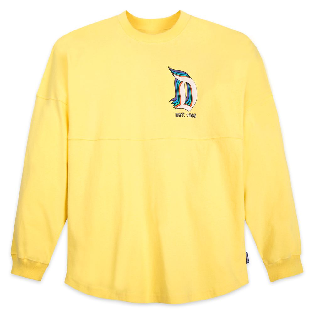 Disneyland Logo Spirit Jersey for Adults – Yellow