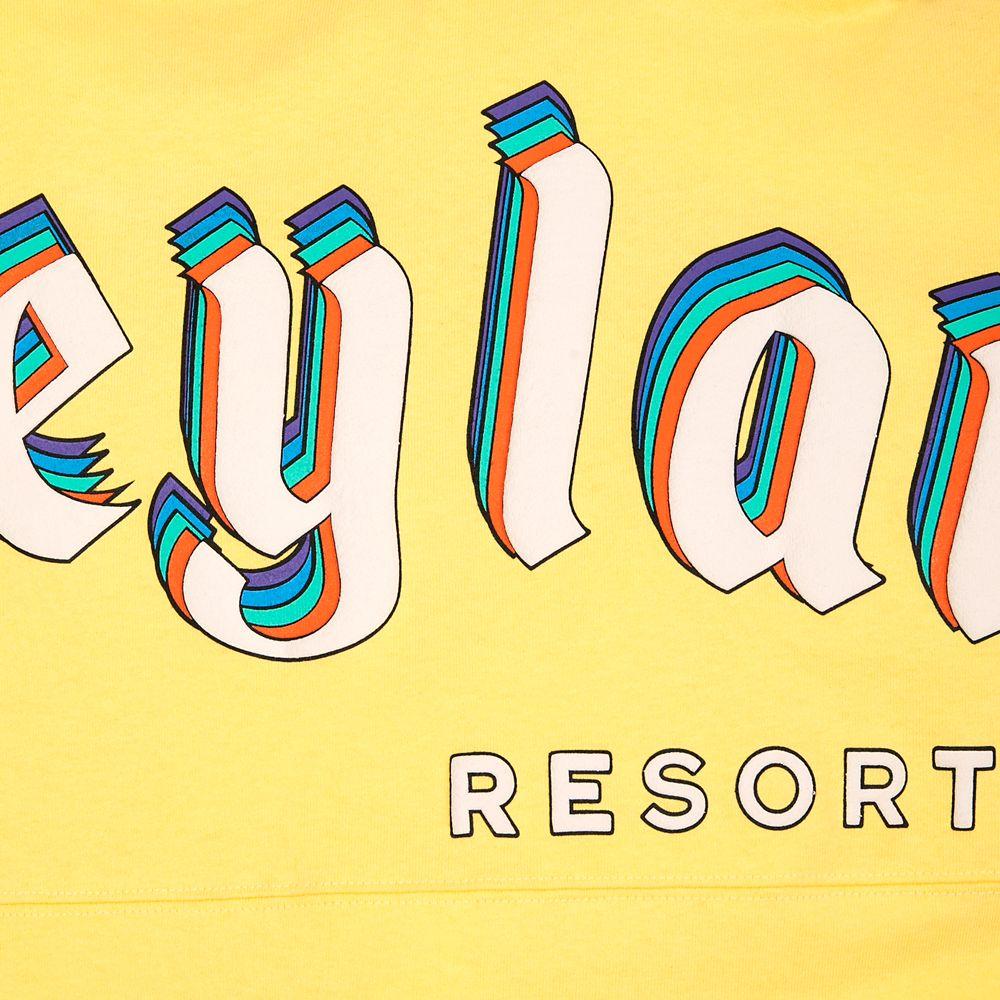 Disneyland Logo Spirit Jersey for Adults – Yellow