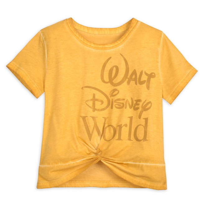 Walt Disney World Knotted Top for Adults