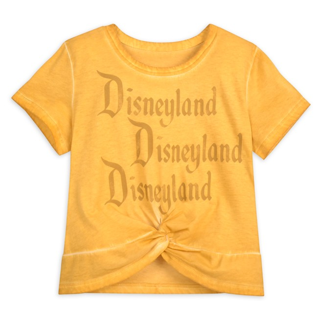 Disneyland Knotted Top for Adults