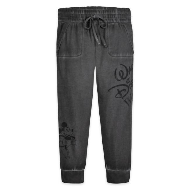Mickey Mouse Mineral Wash Lounge Pants for Adults – Walt Disney World