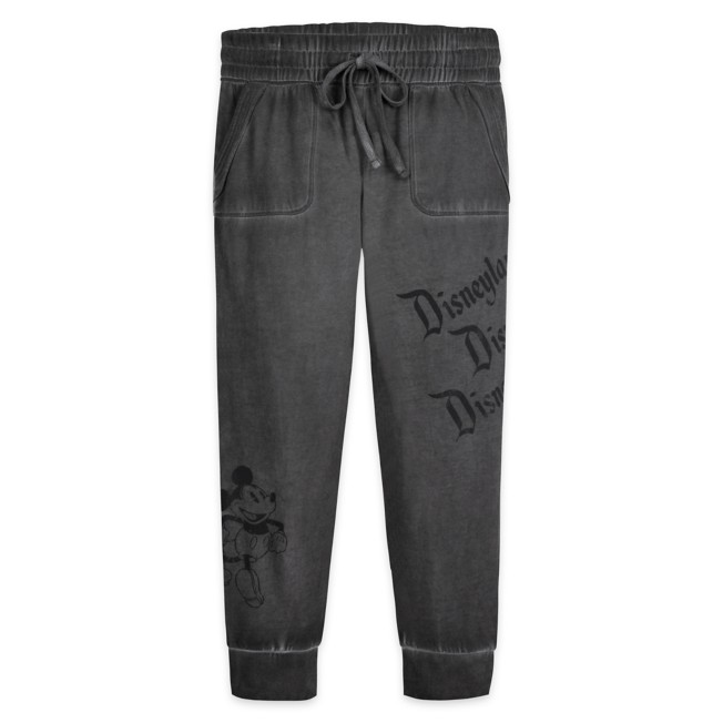 Mickey Mouse Mineral Wash Lounge Pants for Adults – Disneyland