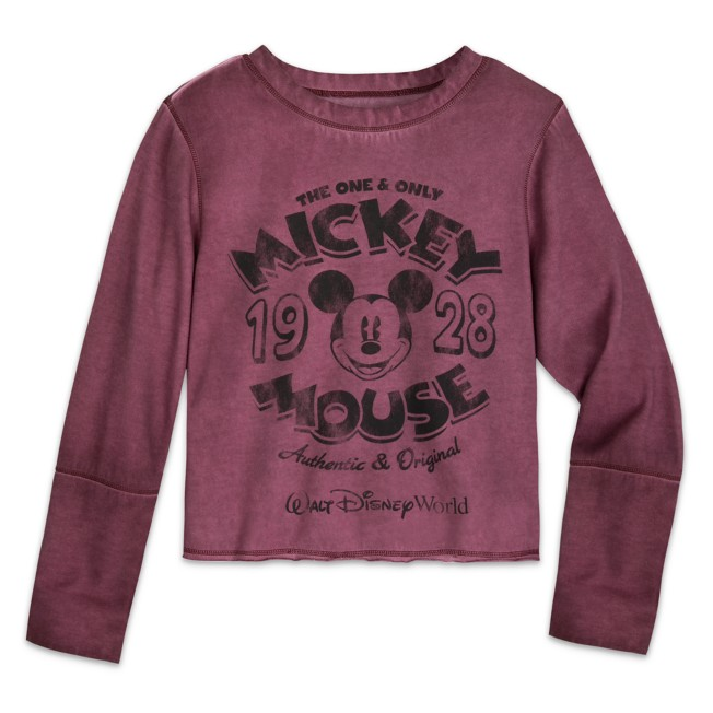Mickey Mouse Long Sleeve T-Shirt for Adults – Walt Disney World