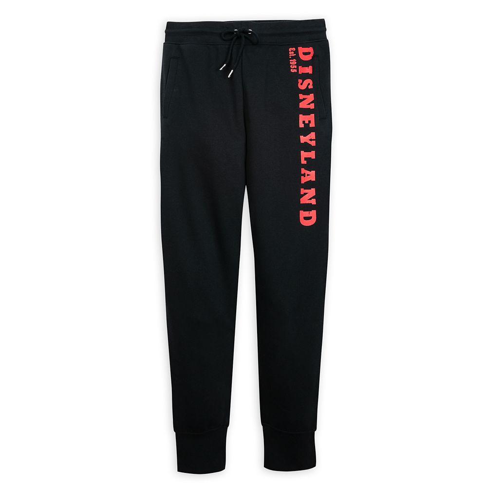 Disneyland Jogger Pants for Women – Black