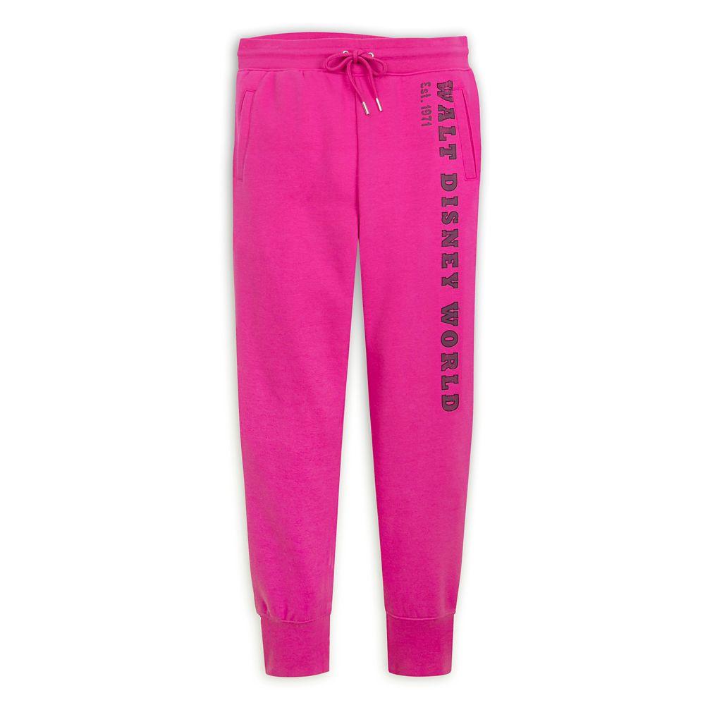 Walt Disney World Jogger Pants for Women – Pink