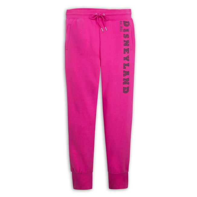 Disneyland Jogger Pants for Women – Pink