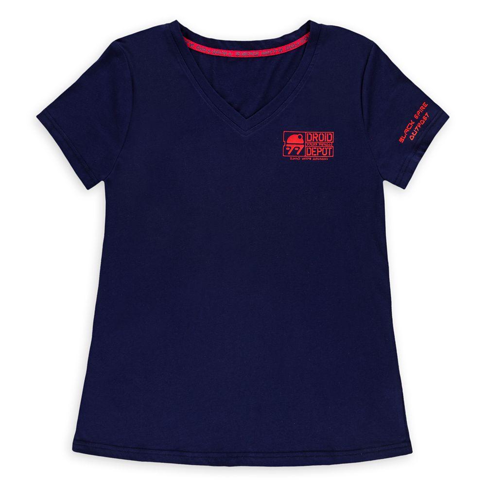 Droid Depot Logo T-Shirt for Women – Star Wars: Galaxy's Edge