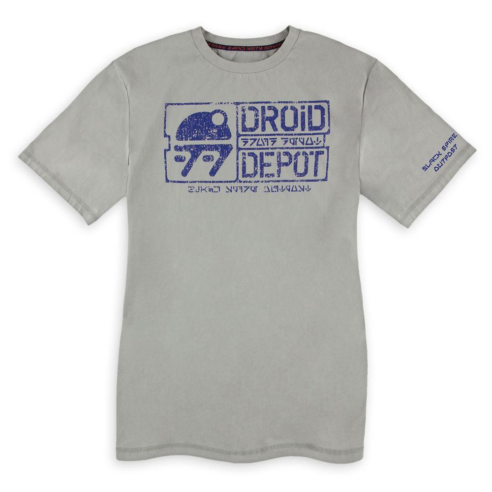 Droid Depot T-Shirt for Men – Star Wars: Galaxy's Edge