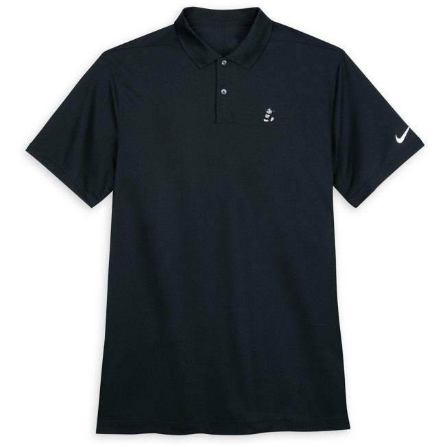 Mickey Mouse Performance Polo Shirt for Men by Nike Golf – Black