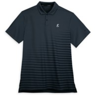 Mickey Mouse Performance Polo Shirt for Adults by Nike – Charcoal Stripe