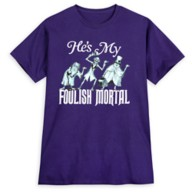 The Haunted Mansion ''He's My Foolish Mortal'' T-Shirt for Adults