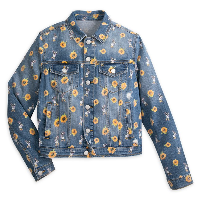 Daisy Duck Denim Jacket for Adults