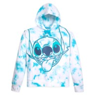 Stitch Tie Dye Pullover Hoodie for Adults – Walt Disney World – Blue
