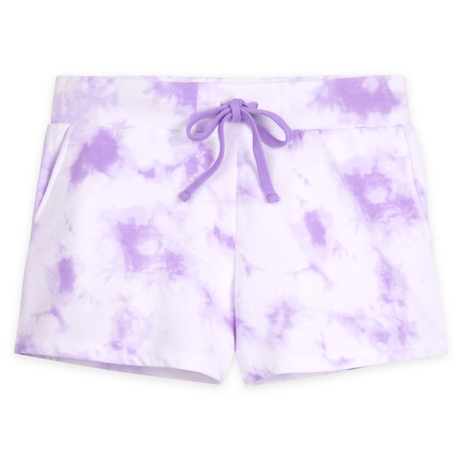 Walt Disney World Tie-Dye Shorts for Adults – Lavender