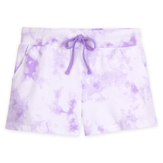 Disneyland Tie Dye Shorts for Adults – Lavender