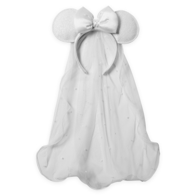 Minnie Mouse Bridal Ear Headband