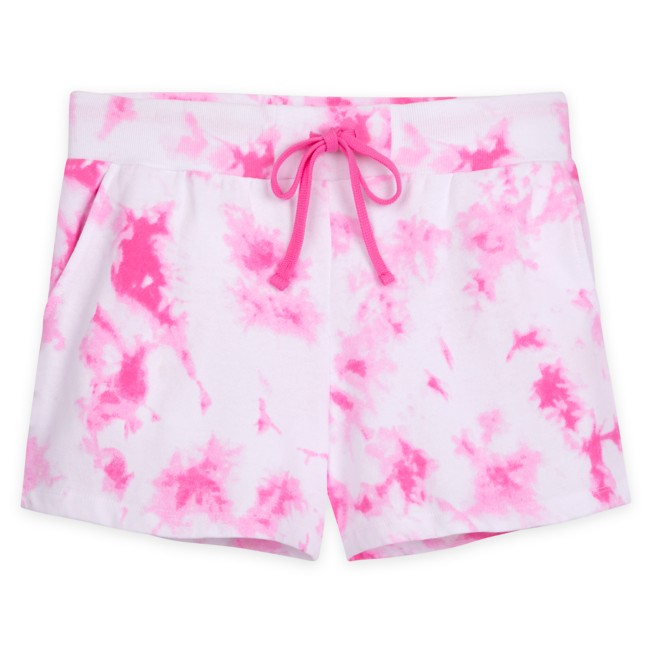 Disneyland Tie-Dye Shorts for Adults – Pink