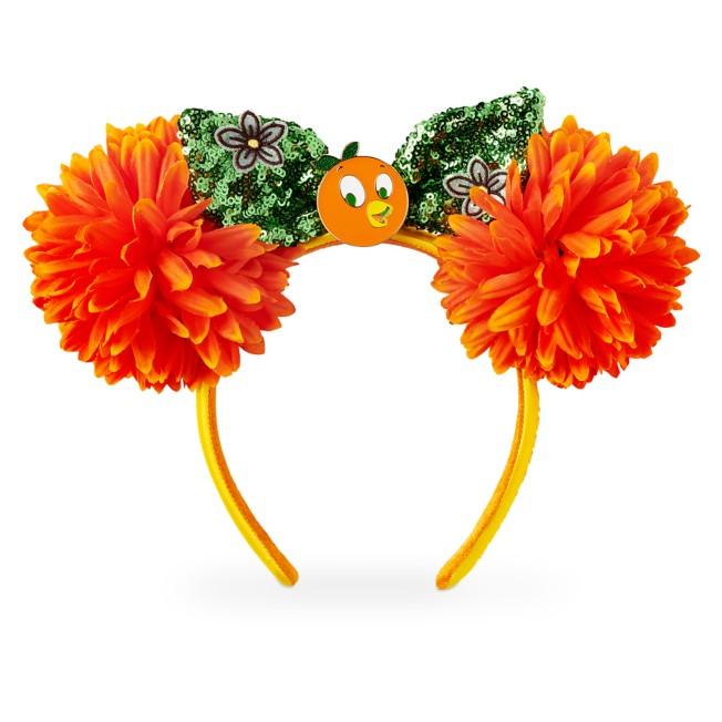 Orange Bird Minnie Mouse Ear Headband – Epcot International Flower and Garden Festival 2021