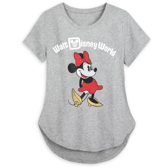 Minnie Mouse Fashion T-Shirt for Women – Walt Disney World