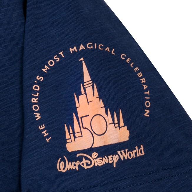 Walt Disney World 50th Anniversary Ringer T-Shirt for Adults