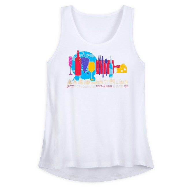Epcot International Food & Wine Festival 2021 Tank Top for Adults