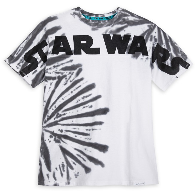 Star Wars Logo Cloud Wash T-Shirt for Adults by Our Universe