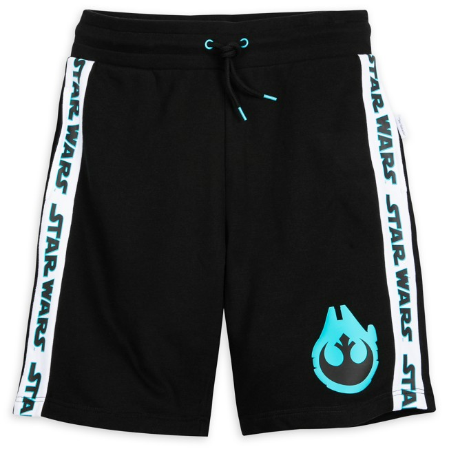 Star Wars Logo Millennium Falcon Shorts for Adults by Our Universe