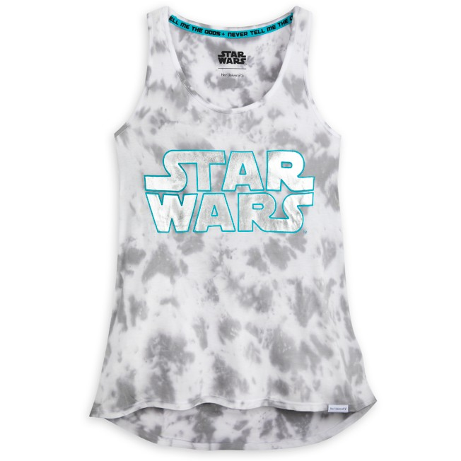 Star Wars Logo Cloud Wash Tank Top for Women by Her Universe
