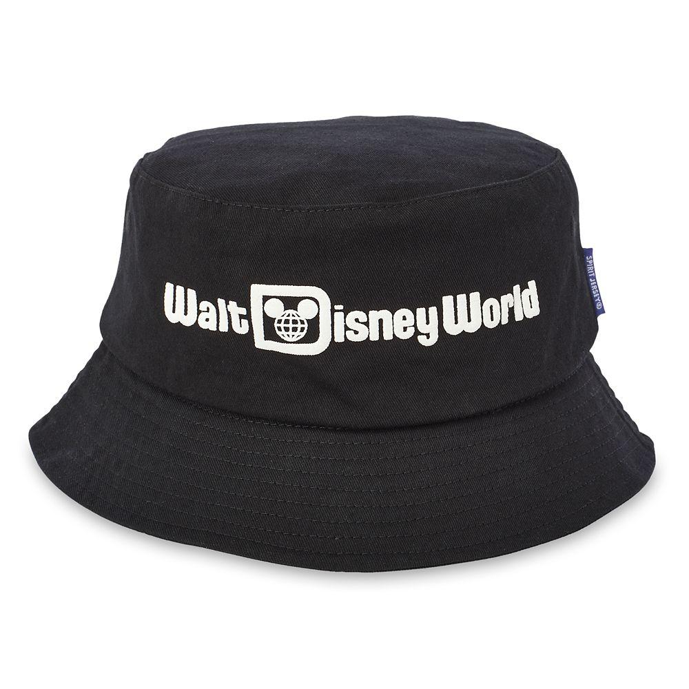 Walt Disney World Bucket Hat for Adults by Spirit Jersey  Black