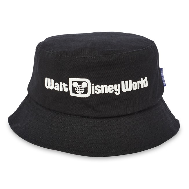 Walt Disney World Bucket Hat for Adults by Spirit Jersey – Black