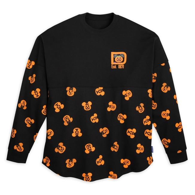 Mickey and Minnie Mouse Pumpkin Spirit Jersey for Adults – Walt Disney World
