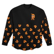 Mickey and Minnie Mouse Pumpkin Spirit Jersey for Adults – Disneyland