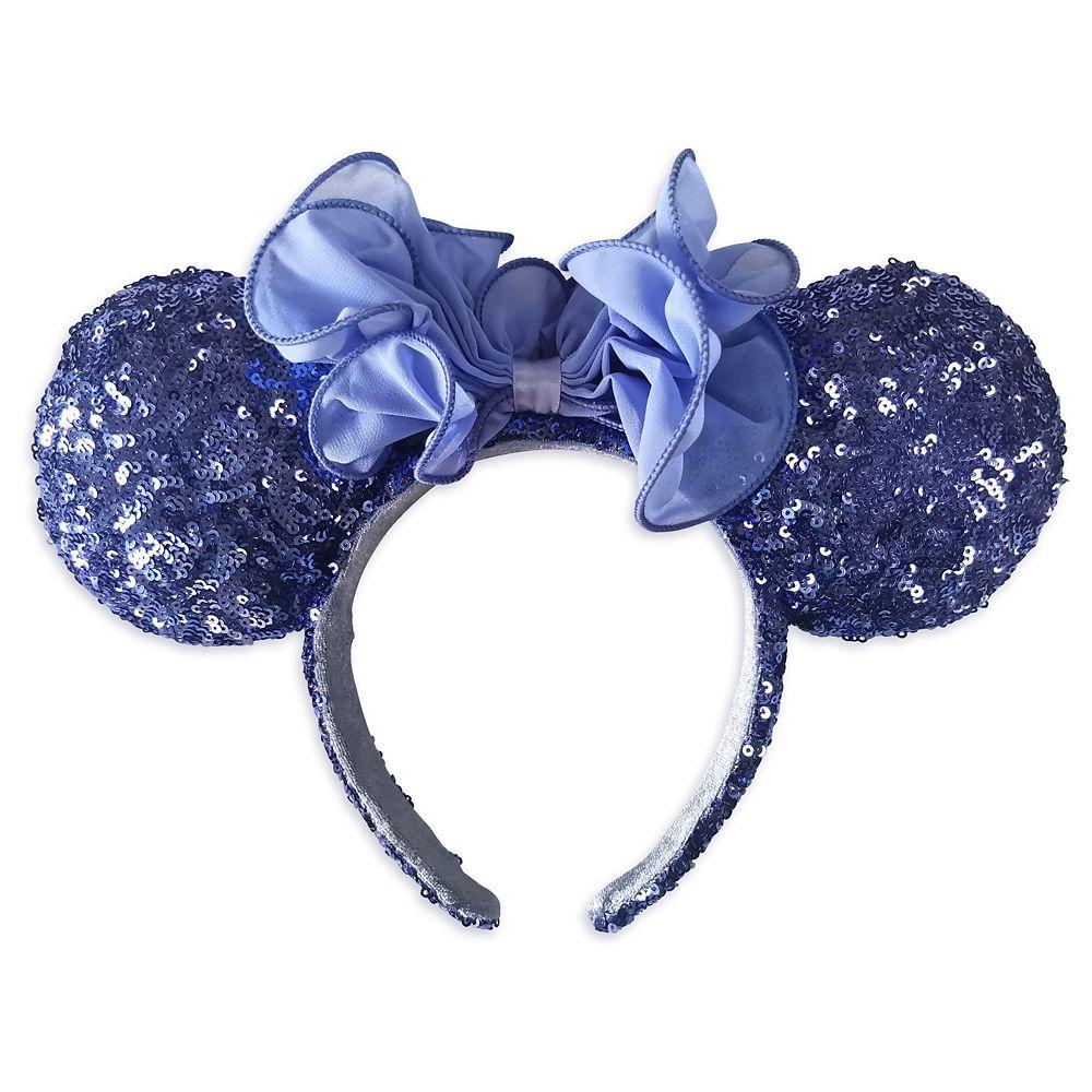 Minnie Mouse Sequined Ear Headband Iris Official shopDisney