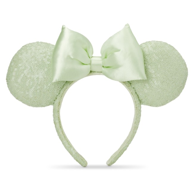 Minnie Mouse Sequined Ear Headband – Mint
