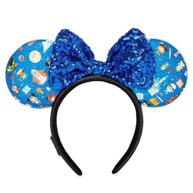 Disney Parks Minnie Mouse Ear Headband by Loungefly