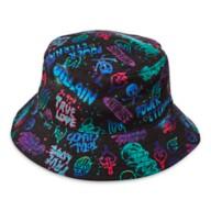 Disney Villains Graffiti Bucket Hat for Adults