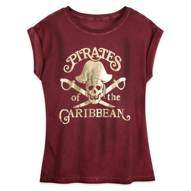 Pirates of the Caribbean Logo Dolman T-Shirt for Women